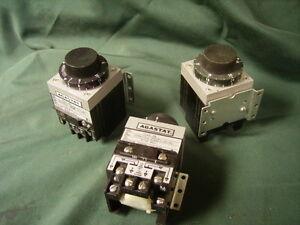 """AGASTAT TIMERS model #""""s 7012AH  7012AF  7022 JH"""