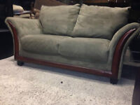 Sage Green LOVE SEAT  - Delivery