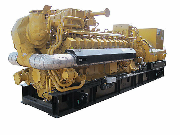 New Caterpillar G3520, 2500KW Natural Gas Generator Sets. any voltage
