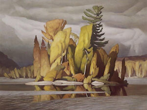 """Limited Edition """"Little Island"""" by A.J. Casson"""