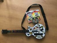 Guitar + Guitar Hero World Tour-20$