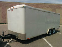 '10 Car Mate 8' x 20' Tandem Axle Enclosed with Heavy Duty Axles
