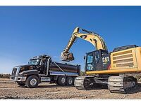 Refuse material disposal and gravel deliveries