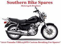 2010 Yamaha YBR125SPD Custom (6,477 miles) *Breaking For Spares / Parts* YBR125 SPD YBR 125 SPD