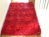 Beautiful red rug for sale