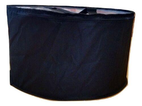 Large hat box black