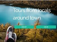 NEW APP - SIGN UP TO MAKE MONEY AS A LOCAL TOUR GUIDE