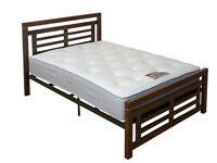 BRAND NEW WOODEN BED