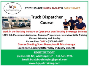 FREE DEMO CLASS OF DISPATCHER COURSE ON SAT & SUN 12 TO 1PM