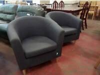Grey tub chairs £35 each