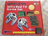 Battery Operated Wireless Infra Red Plug 'n' Play TV Game Console (christmas present)