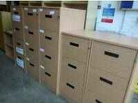 Selection of office filing cabinets in stock. 4 drawer £40. 3 drawer £35.Many available