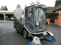 Green machines 636 road sweeper