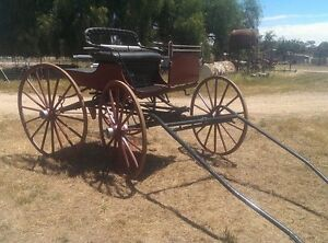 Horse drawn buggy Avoca Pyrenees Area Preview
