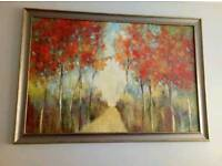 Dunelm framed painting