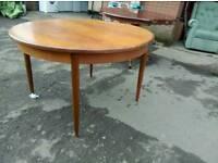 G- plan table
