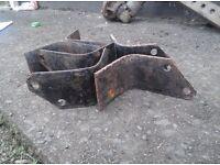 Rotavator blades with 5/8 bolt holes. £3 each