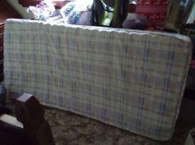 Used single mattress
