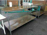 Industrial benches £70 each