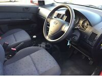 Hyundai GETZ CDX 1.3 petrol manual low mileage £995
