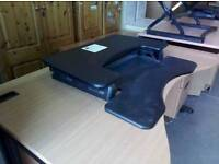 Varidesk proplus 60 transform your desk into a standing workstation £75 each