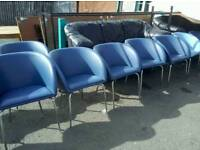 Tub style reception chairs lots available £10 each