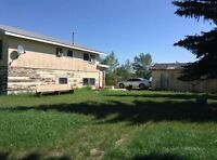 $29000 25 minutes South of Provost Bodo Ab.  Lrg house on 3 Lots