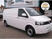 2011 VW TRANSPORTER T30 TDI 102BHP LWB FULL HISTORY AND FULLY COLOUR CODED