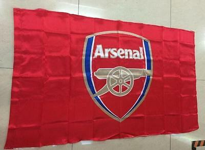 Arsenal FC Club Flag Banner 3x5 ft Soccer Club Fan Collection decoration