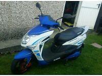 Sundra E-nysa 2000 Electric moped