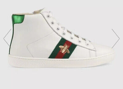 Gucci Ace High Top Sneaker Kids Size 25