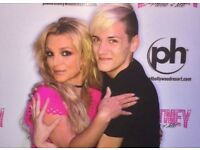 2 BRITNEY SPEARS Meet and Greet Tickets Plus Tickets to concert London 25th August