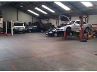 mechanic garage to let