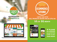 Online store, E commerce Shopping Cart 100% Guarantee