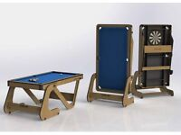 Riley folding 6ft pool table