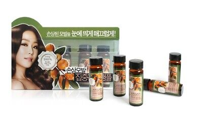 Confume Argan Damaged Hair Intensive Treatment Ampoule (15ml x 5pcs) Wellcos