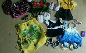 Used Build a bear clothes and accessories