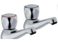 Wickes Trade Bath Taps Chrome (Brand New in packaging)
