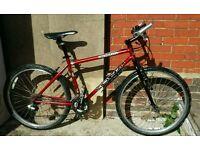 "Kona 18 "" 24 spd lightweight bike"