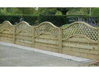 NEW KDM Fence panels x 4