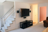 Home Theater, TV Installation and Set Up