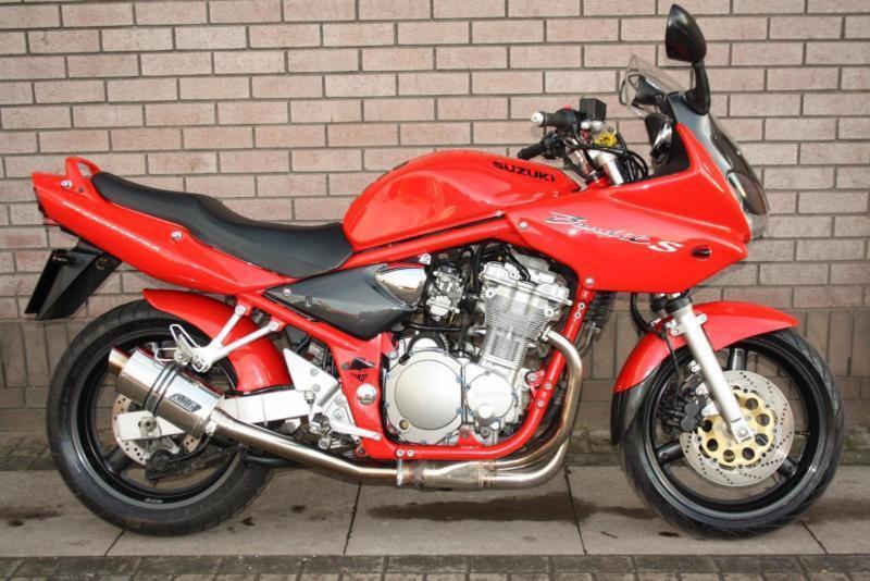 SUZUKI GSF 600S GSF600 BANDIT RED