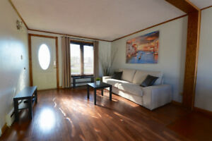 Furnished 3 bedroom house month-to-month