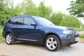 2004 BMW X3 3.0i auto 4X4 Sport, SAT-NAV, LEATHER, PAN ROOF, PETROL
