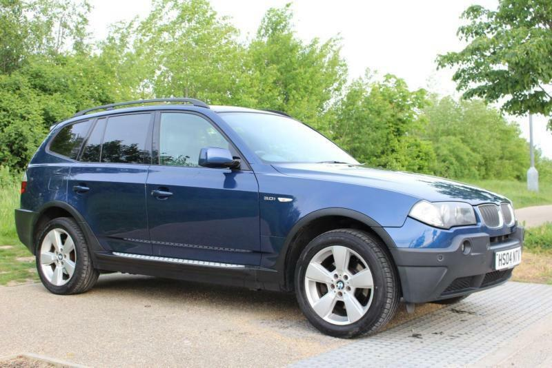 2004 bmw x3 auto 4x4 sport sat nav leather pan. Black Bedroom Furniture Sets. Home Design Ideas