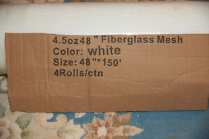 20 rolls of acrylic stucco fibreglass mesh
