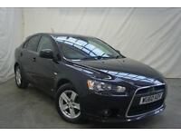 2010 Mitsubishi Lancer GS2 DI-D Diesel black Manual