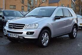 MERCEDES ML 350 V6 7G-TRONIC SPECIAL EDITION, SAT NAV, 78,000 MILES ONLY