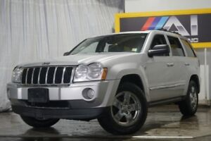 2007 Jeep Grand Cherokee Limited Navi Camera DVD Diesel Leather