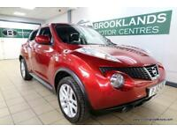 Nissan Juke 1.6 TEKNA [NISSAN HISTORY, LOW MILES, SAT NAV and LEATHER]